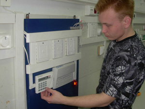 установка охранно пожарной сигнализации 2