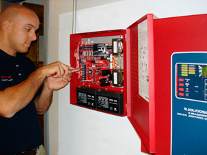 монтаж пожарной сигнализации 2